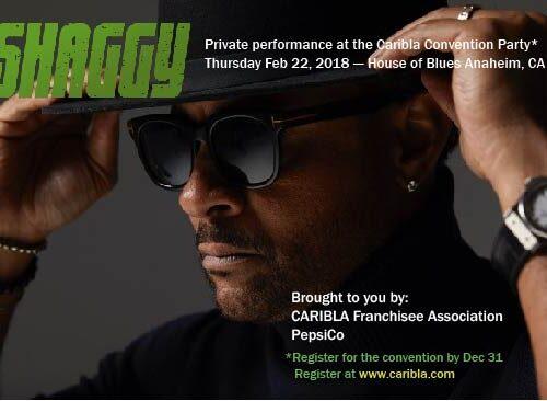 Shaggy @ Caribla Convention Anaheim
